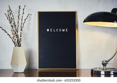LETTERBOARD, Welcome