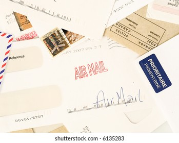 letters from around the world, perfect to illustrate reader mail or fan mail