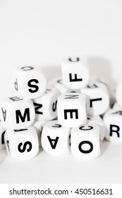 letters dice