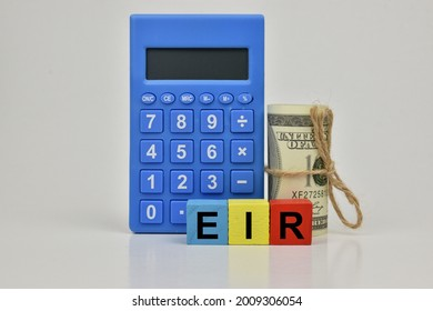The letters E, I and R are abbreviations for Effective Interest Rate.