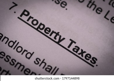 The letters of property taxes clause of the lease agreement in heavy vignette. The landlord usually shift the taxes burden to the tenant through contractual mechanic.