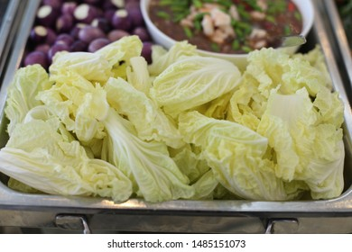 Lettuce in thai menu meal