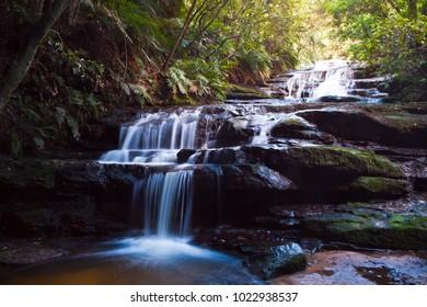 Leura Falls, Blue Mountains, Australia.