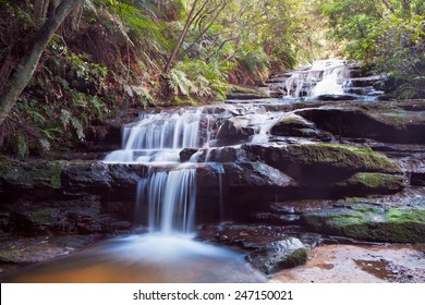 Leura Falls, Blue Mountains, Australia.