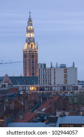 leuven university library tower exterior belgium europe