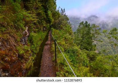 Levadas on Madeira Island. Hiking on Madeira trails