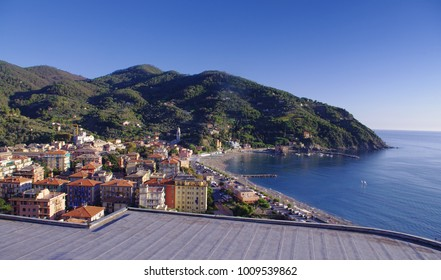 Levanto or Levante, a beautiful fishing village in Liguria. Italy