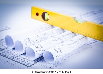 level and rolls of architectural projects