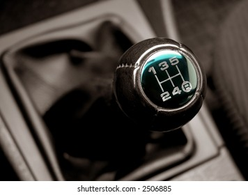 lever of switching of transmissions an auto