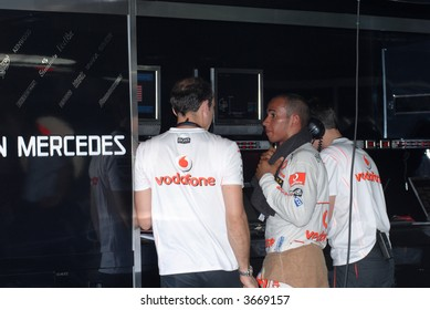 Lewis Hamilton at Sepang F1 Malaysia 2007 Grand Prix