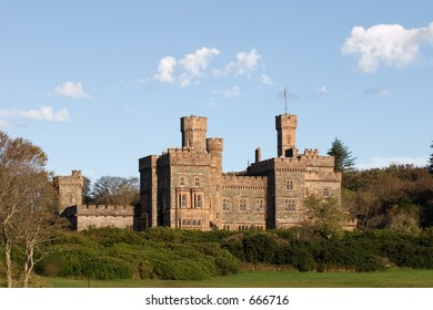 Lews Castle, Stornoway,  a college of further education.