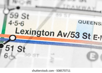 Lexington Av/53St. 6 Av/Central Park West/Queens Blvd/Myrtle Blv