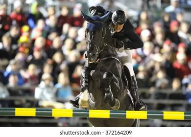 Lexington, Kentucky, October 6, 2010 World Equestrian Games, James Paterson Robinson riding Niack De L Abbaye