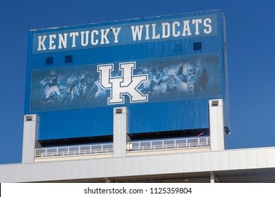 LEXINGTON, KY/USA - JUNE 3, 2018:  Kroger field, home of the Kentucky Wildcats on the campus of the University of Kentucky.