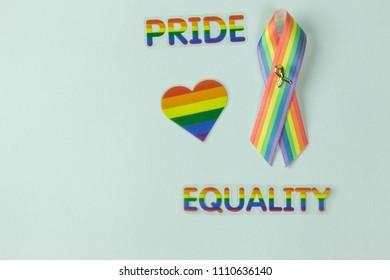 LGBT symbols concept
