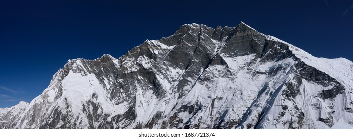 Lhotse view from the top of Island peak