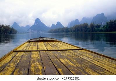 Li River near Yangshuo in China