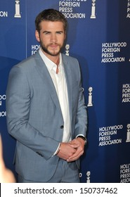 Liam Hemsworth at the Hollywood Foreign Press Association's 2013 Annual Luncheon at the Beverly Hilton Hotel. August 13, 2013  Beverly Hills, CA