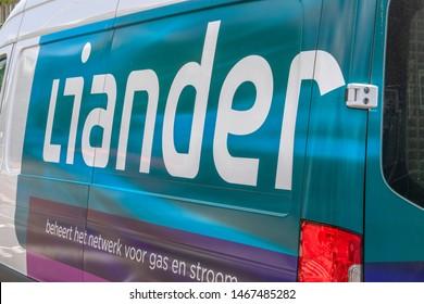 Liander Company Car At Amsterdam The Netherlands 2019