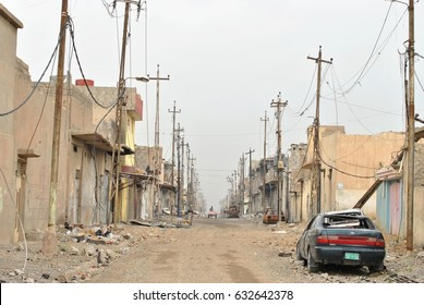 The liberated area in Iraq, the war on the Islamic state.