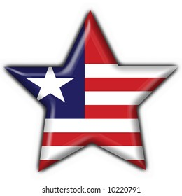liberia button flag star shape