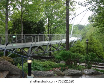Liberty Bridge in Greenville, South Carolina