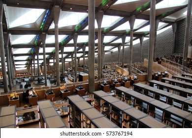 Library in Alexandria