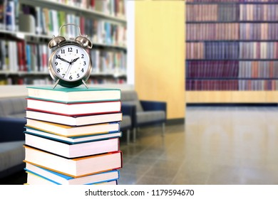 library and back to school concept with book
