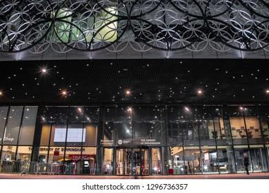 The Library of Birmingham. January 27, 2019 UK