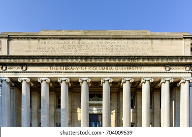 The Library of Columbia University in the City of New York.