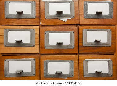 Library drawers