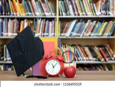 library and education concept