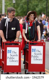 Library employees