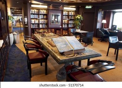 library interior reading room
