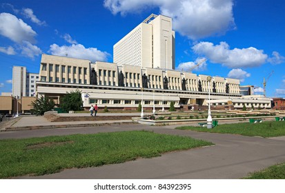 Library named after Pushkin. Omsk.