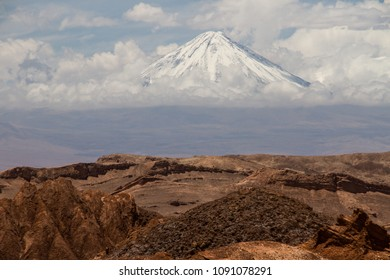 Licancabur volcano in Chile
