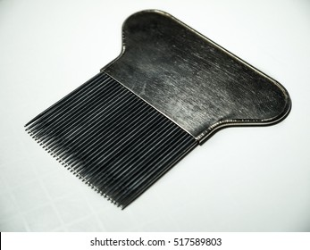 Lice Comb isolated on white background