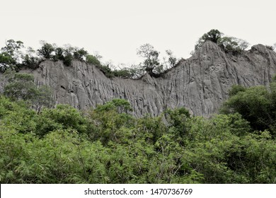 """The Lichi Formation is a paleontological formation located in Taiwan. It also called the """"Liji Badlands"""" or the """"Moon World of Liji"""". The gully produced by the erosion of rain."""