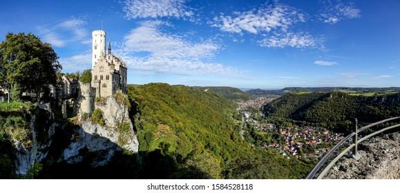 Lichtenstein Castle, Lichtenstein, Baden-Württemberg, Germany