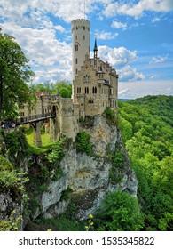 Lichtenstein Castle, Lichtenstein, Germany built by Baron Ritter von Lichtenstein