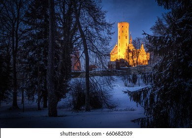 "Lichtenstein Castle is a historic castle built in the 19th century and also known as ""Wuerttemberg's fairytale castle""."