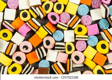 Licorice Candys Background,fall candy.