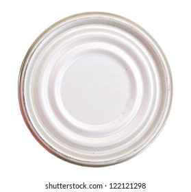 Lid or Base of Food Tin Can