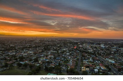 Lidcombe Aerial Sunset