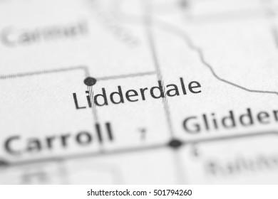 Lidderdale. Iowa. USA.