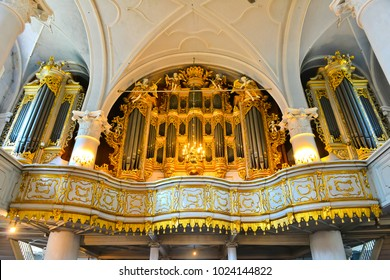 LIEPAJA, LATVIA - OCTOBER 08, 2014:  the largest mechanical organ in the world until 1968