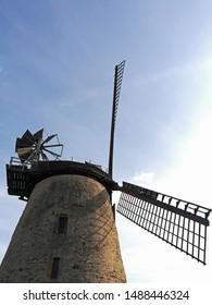 liesberg windmill in east westphalia