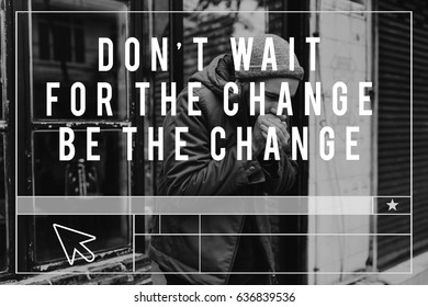 Life Change Opportunity Motivation Inspiration Word Graphic
