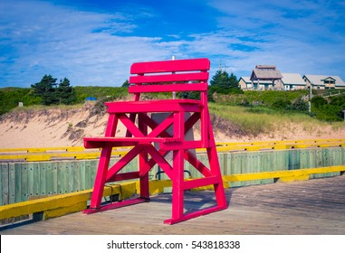 life guard 's chair