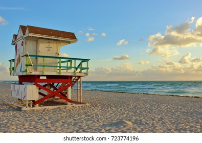 Life guard tower Miami Beach